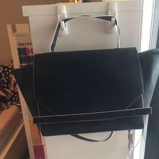 FCUK Dark Blue Cynthia Bag