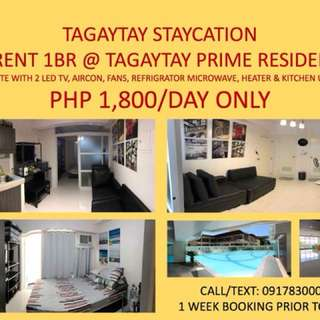 Tagaytay Staycation R' Us
