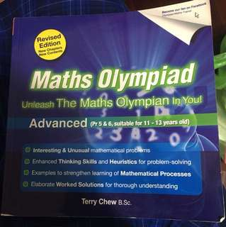 Maths Olympiad Textbook