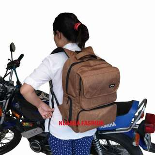 Backpack Tas Ransel Laptop GOLD Limited Produk AA00026