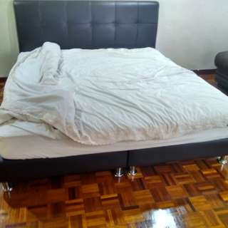 King Sized Bed with King Koil Mattress