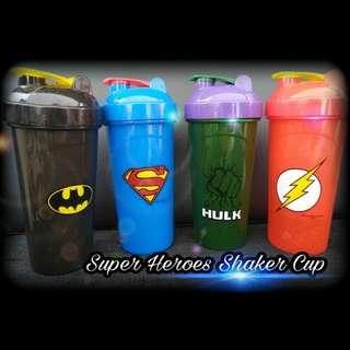 Super Hero Shaker Cup