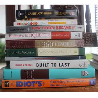 Various Business Books