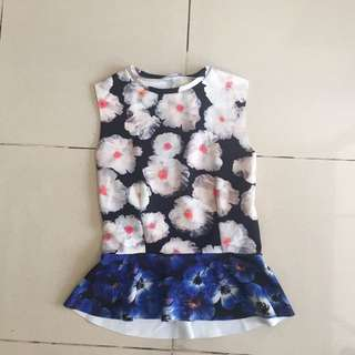 "Flower shirt ""ZARA"""