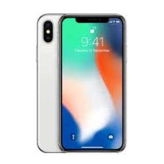 iPhone X / IPhone 10 256GB Singtel Set White / Silver