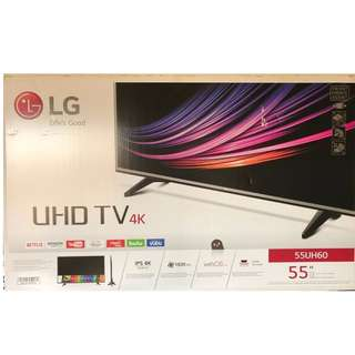 "Brand New LG 55"" SMART LED TV in box (4K UHD)"
