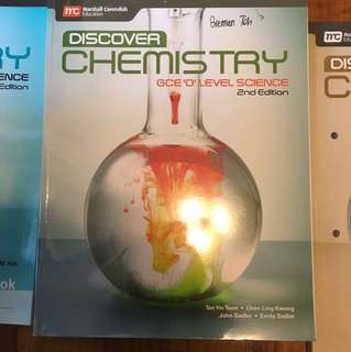 Discover Chemistry (Textbook, practical and workbook)