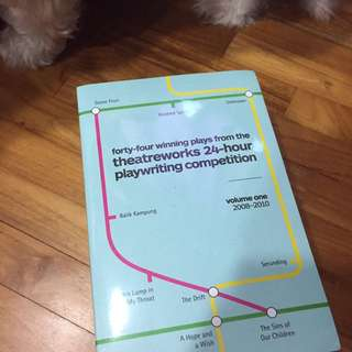 Theatreworks 24-hour Playwriting Competition Anthology