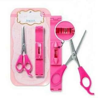 #1212YES 💎 Korean Bangs Guide Tool & Scissors Set