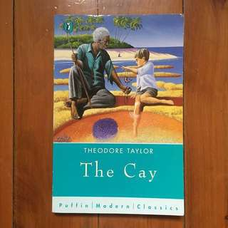 "Free with any purchase over $10 / ""The Cay"" by Theodore Taylor"