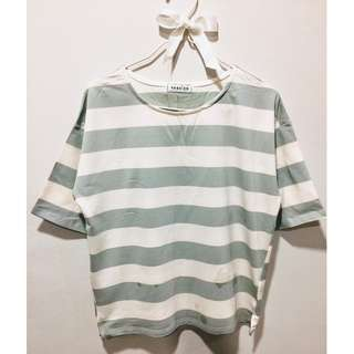 Thick Strip Shirt (Green)