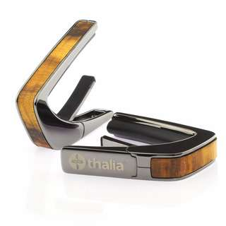 Thalia Capo 200 Series Figured Hawaiian Koa Black Chrome