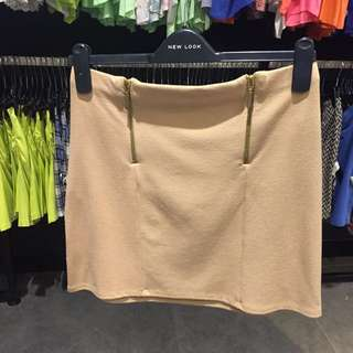 NEW! Newlook brown skirt (size 8) tag price 259.900