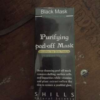 Shills black mask original