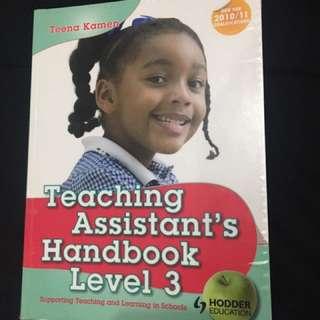 Teachers assistant handbook