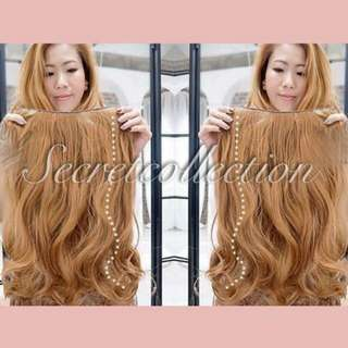 Korea Hairclip Biglayerblow Ligth Blonde