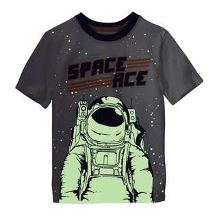 Authentic OshKosh Glow-In-The-Dark Space Ace Tee