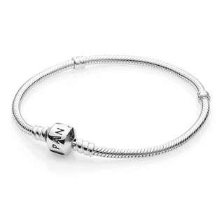 Pandora Charm Bracelet - Sterling Silver 16cm