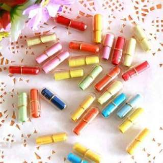 Bottles and capsule message
