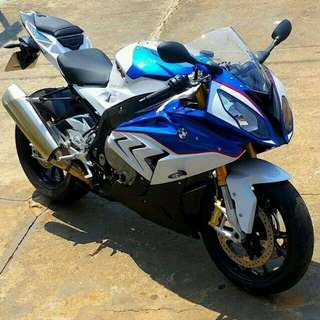 BMW Racing bike S1000