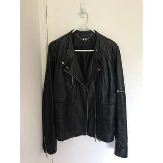 🌟Forever New Leather Jacket Size 16🌟