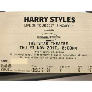 Harry Styles Nov Concert
