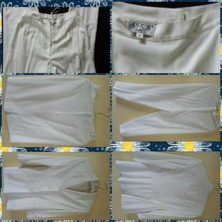 White Pant w/Blazer and Skirt