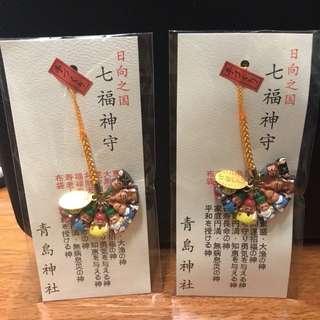 日本 七福神 掛飾