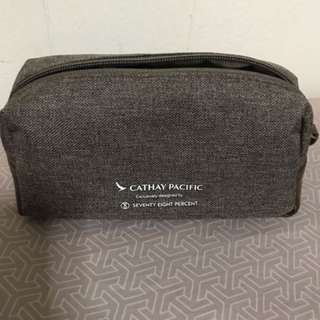 Amenity case from Cathay Pacific Airlines