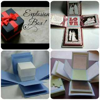 explosion box for gifts