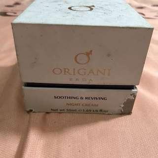 Original Origani Soothing and Reviving Night Cream
