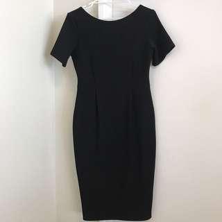 NEW BOO HOO Night Felicity Textured Formal Midi Dress