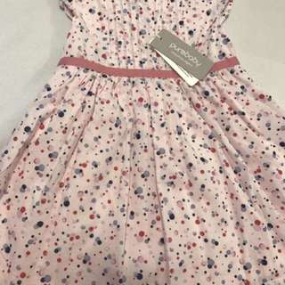 NEW PUREBABY Painterly Baby Girl Dress Size 0 (6-12 months)