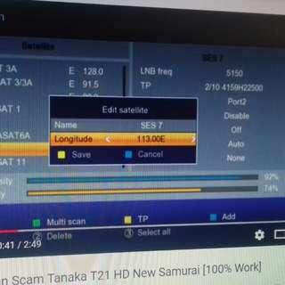 Satelite ses 7 scam