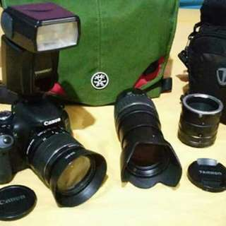 Canon 600D All in accessories included