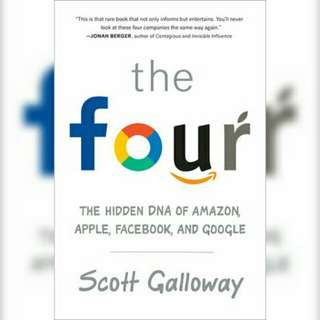 Brand New : The Four - Hidden DNA of Amazon, Apple, Facebook & Google - Softcover