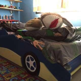 Kid Car Single Bed