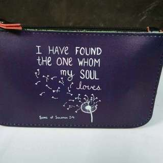POUCH with Bible Verses