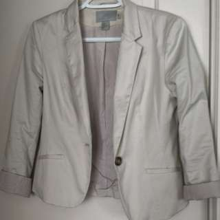 H and M blazer slightly used size 38
