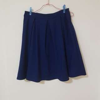 Love and Bravery pleated skirt