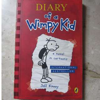 Children Book - Diary Of A Wimpy Kid