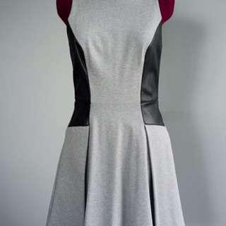 Club Monaco Grey leather Dress