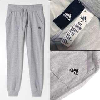 全新 adidas 愛迪達 運動褲 長褲 縮口褲 棉褲