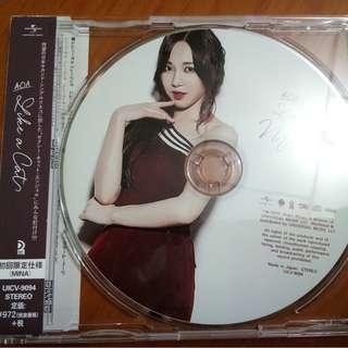 AOA Like A Cat Japanese Mina Ver.