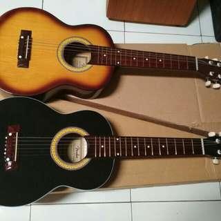 Gitar akustik mini glos
