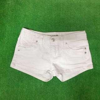 夏季出清- blue club 白色牛仔短褲