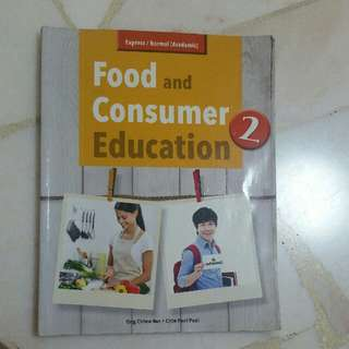 Sec 2 Food And Consumer Education textbook