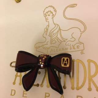 ALEXANDRE法國頂級髪飾迷你䯭夾