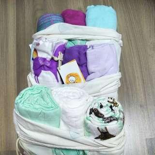 $90.Tula Blanket set - BnWT  GALAXY only