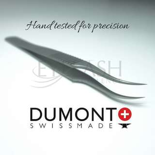 Dumont tweezers - hand tested by frankie widdows